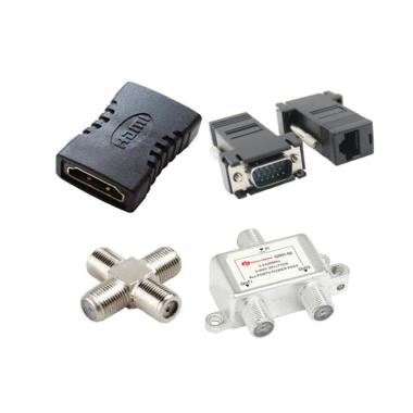 SPLITER, HDMI, VGA, COAXIAL